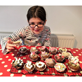 Mary-Jane earning her Brownie baking badge!