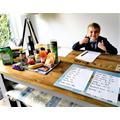 Thomas opens shop to practice money skills
