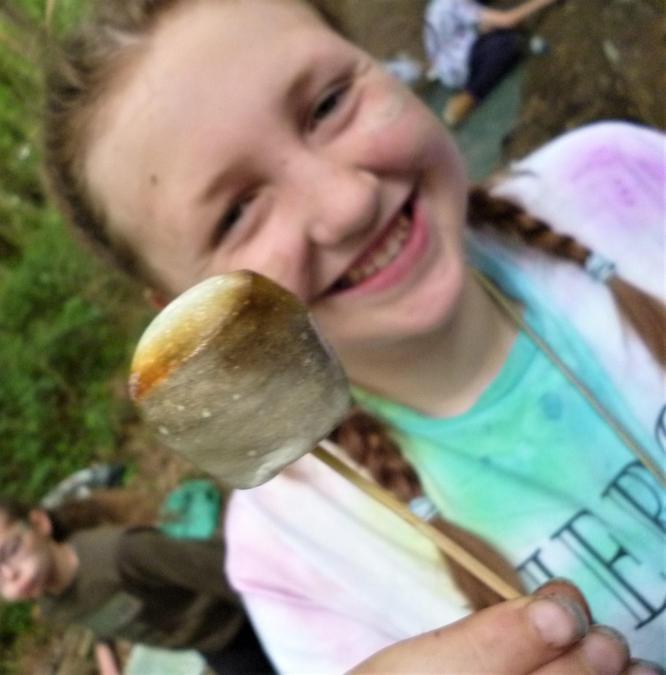 We LOVE gooey marshmallows!