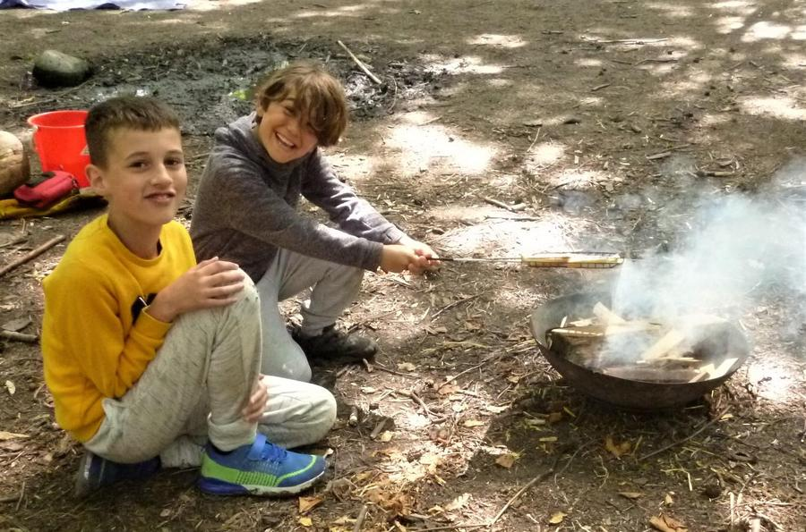 Time to make another batch of Forest School popcorn