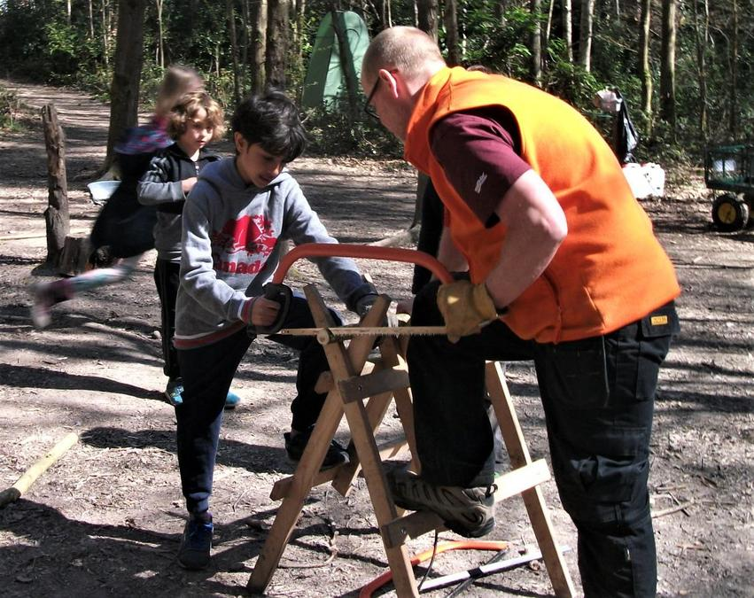 A lesson from Mr T on the bow saw