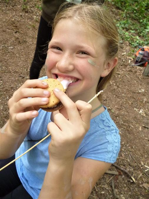 Marshmallow + Biscuit = YUMMY!