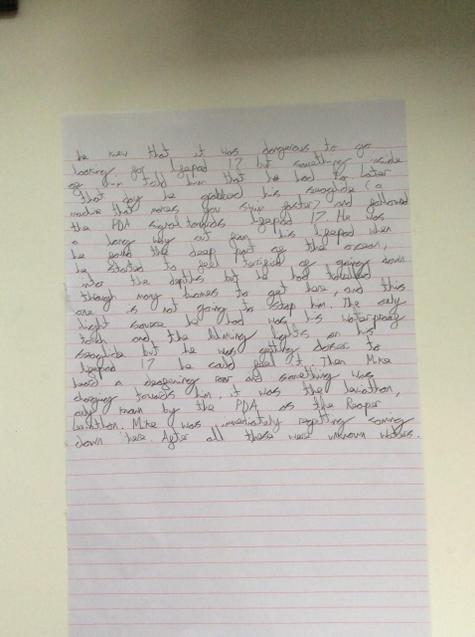 Zach's story. Page 3.