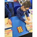 Working systematically in our Nrich task in Maths
