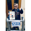 Help one of our Reception children raise money for a cause close to his heart!
