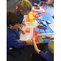 Using manipulatives to help us in maths