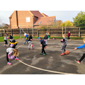 Taking part in our Be Active Day