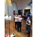 Siddington pupils at the Science Museum