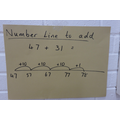 Yr 3 - Number Line addition