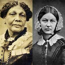 Mary Seacole and Florence Nighingale