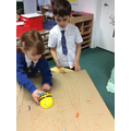 How can we make the BeeBot move?