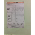 Recording the weather FS2 / Yr1