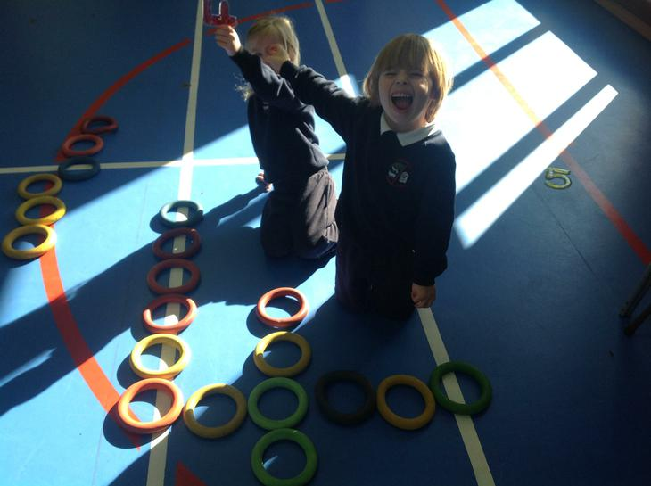 Jamie was pleased with himself when he made 4.