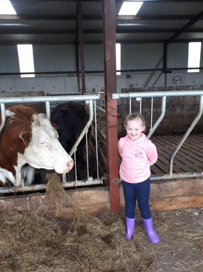 Best dressed farmer is Grace
