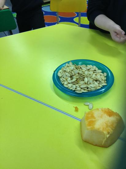 We will use the seeds for counting.