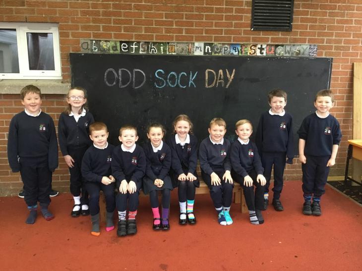 P3 Odd Sock Day!