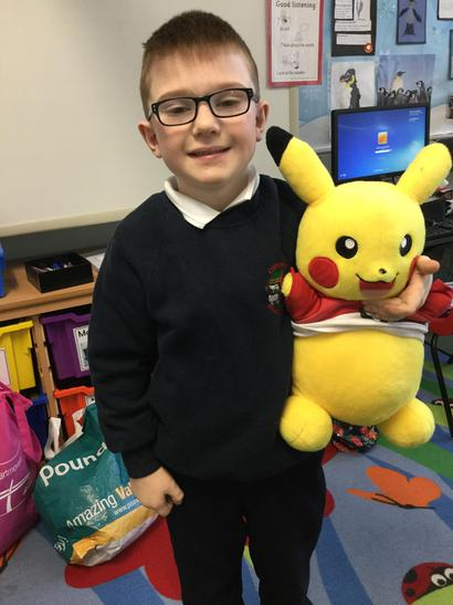 Harry and Pikachu!
