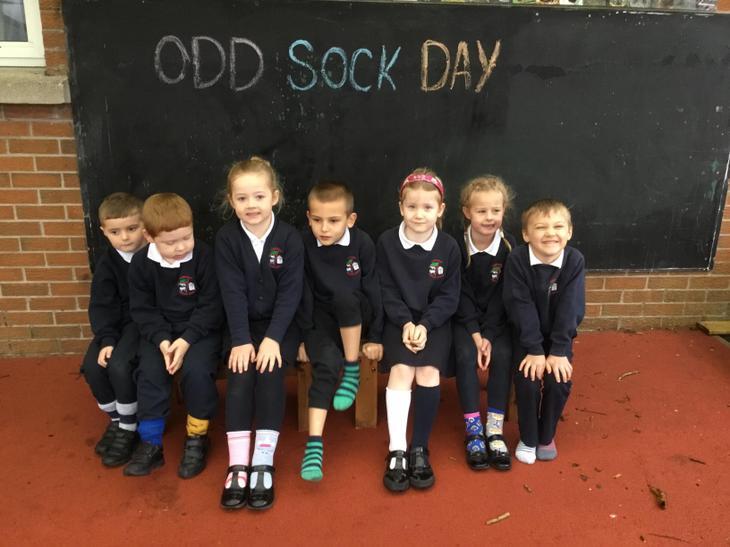 P2 Odd Sock Day!