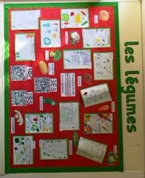 Writing complex sentences about vegetables