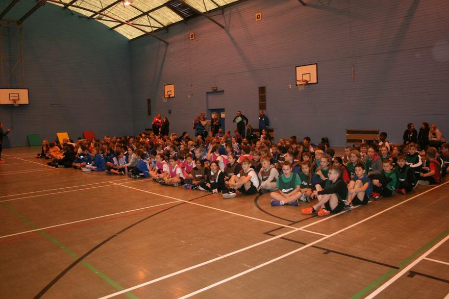 Sportshall Athletics teams ready to compete..