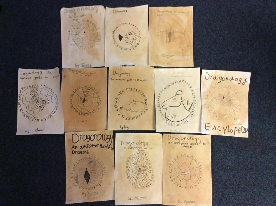 Dragon Guide Front Cover Examples