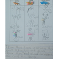 Some examples of our work in Science and English.
