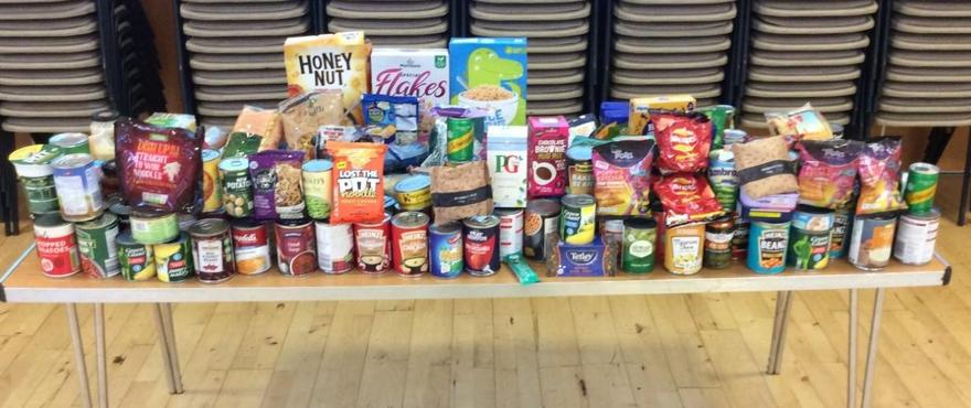 Thank you to everyone who brought in donations for Open Door.  They are ready to go!