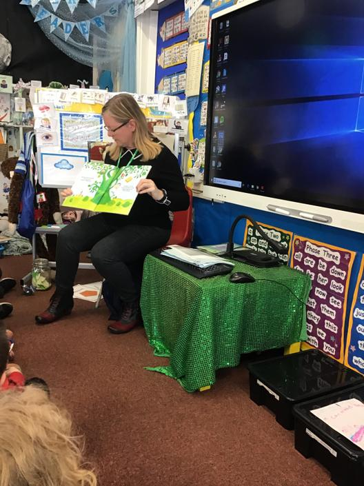 Learning through stories with familiar characters
