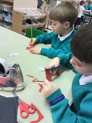 We made our own poppies