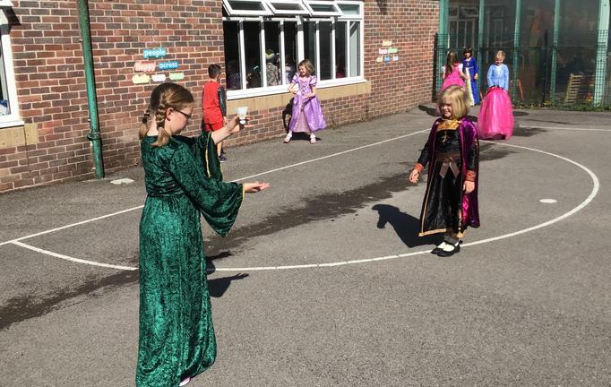 Medieval badminton.