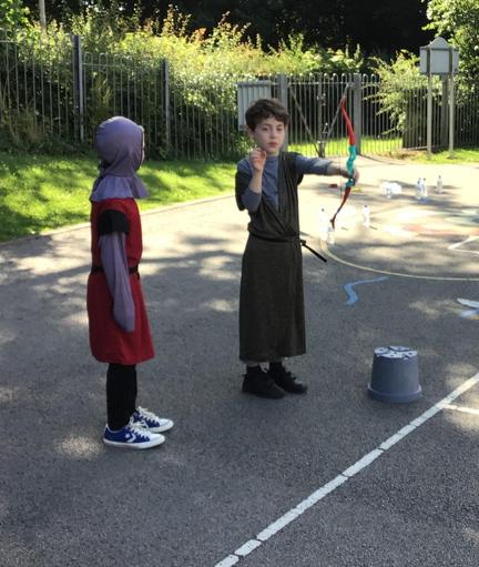 Well done Rowan for winning the archery tournament.