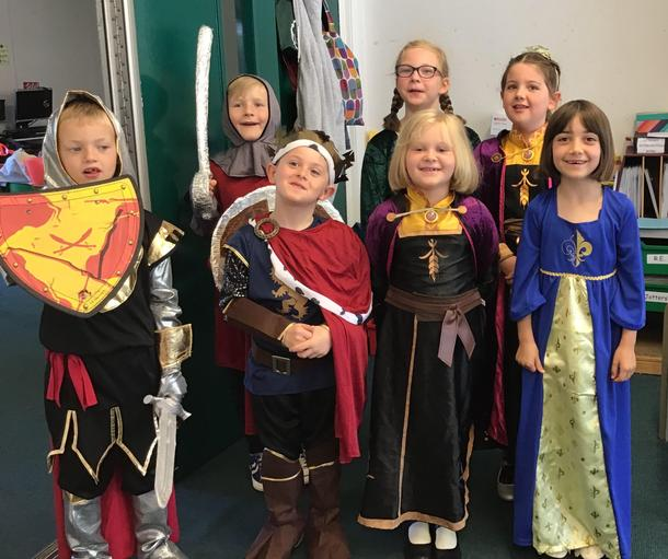 Fantastic costumes from all the children.