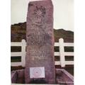 Shackleton's grave in South Georgia + CPS logo