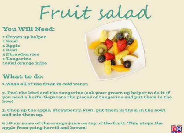 Next term we will be focusing on answering the question, 'How healthy is fruit?' To get ou