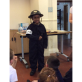 Newly recruited Air Raid Patrol Warden!