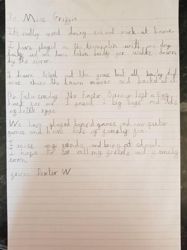 Letter to Miss Griffin