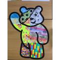 Children In Need Pudsey Art Work
