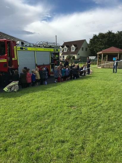 Bridgend Fire Station Visit