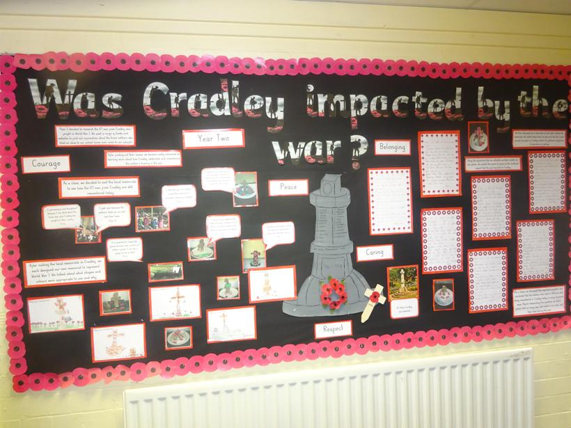 How was Cradley impacted by the war?