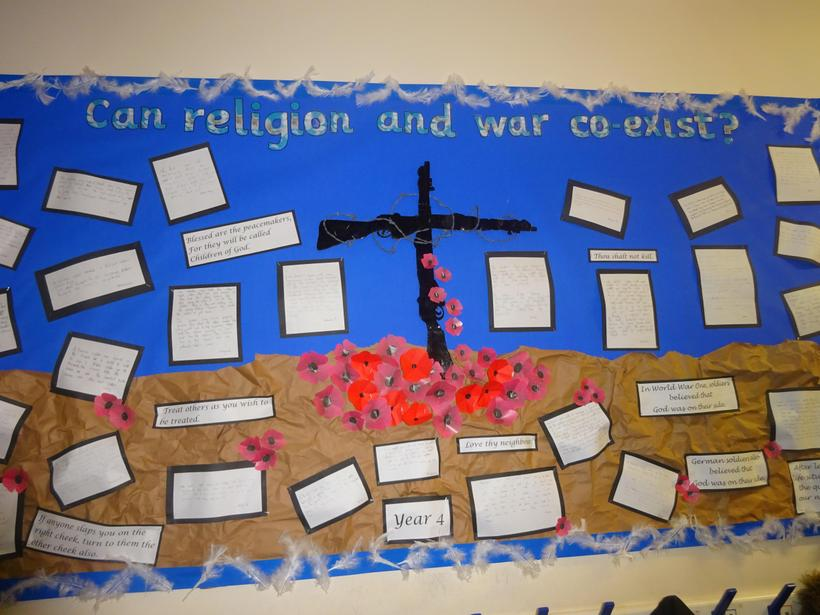 Can religion and war co-exist?