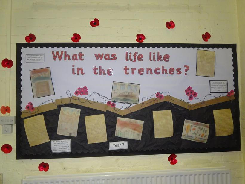 What was life like in the trenches?