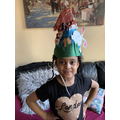 And winner of tallest bonnet goes to...Isabella!