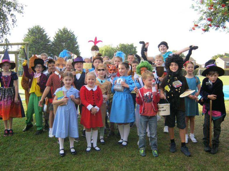 Year 4 have worked hard on their costumes