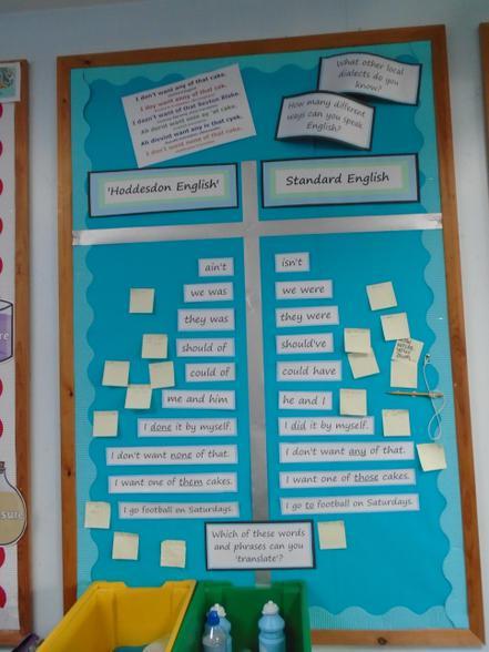 Standard English v Hoddesdon English