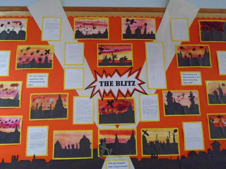 Empathising with those who experienced the Blitz