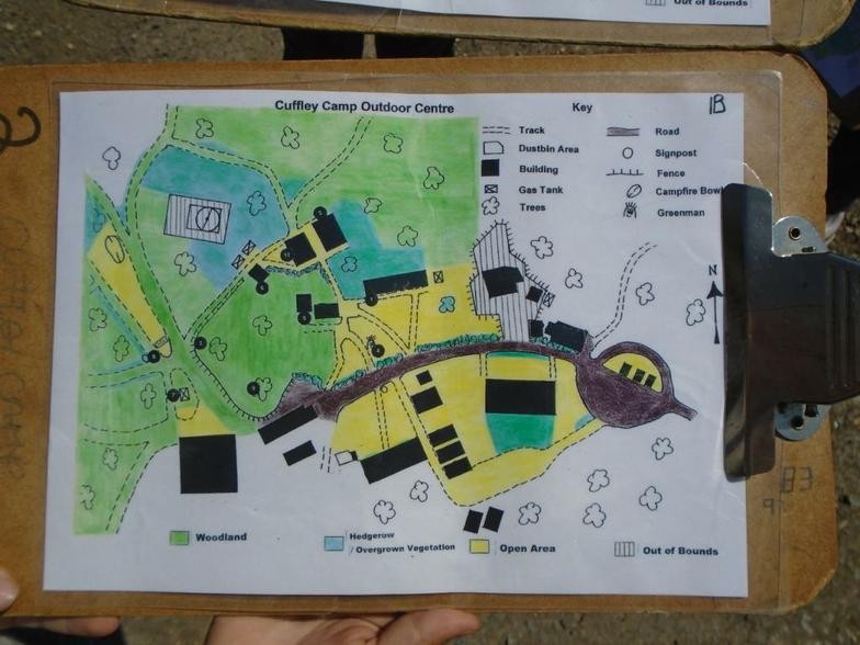 Our orienteering map