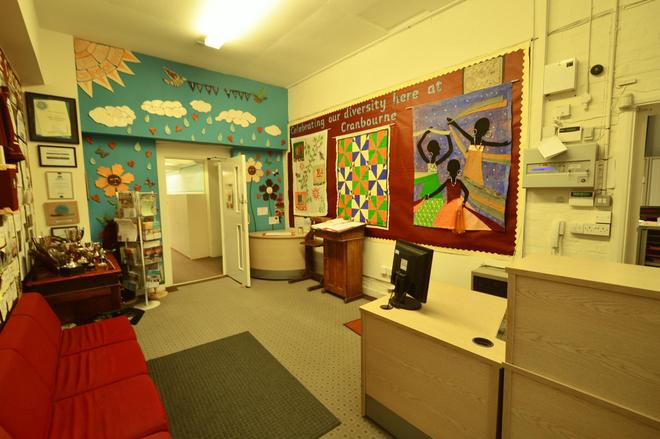 School reception / office