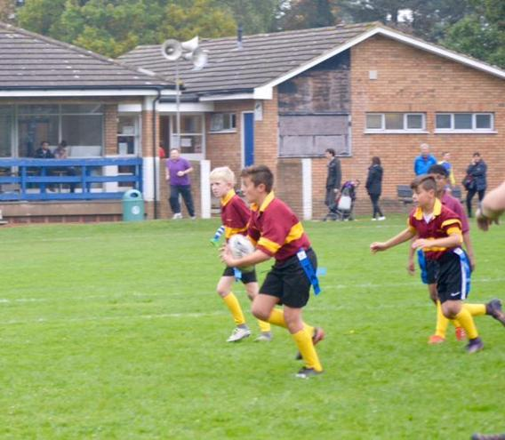 Year 6 Rugby competition