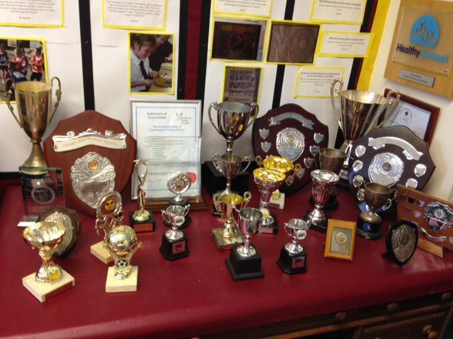 Some of our well earned trophies