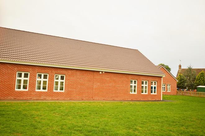 Reception and Year 1 building